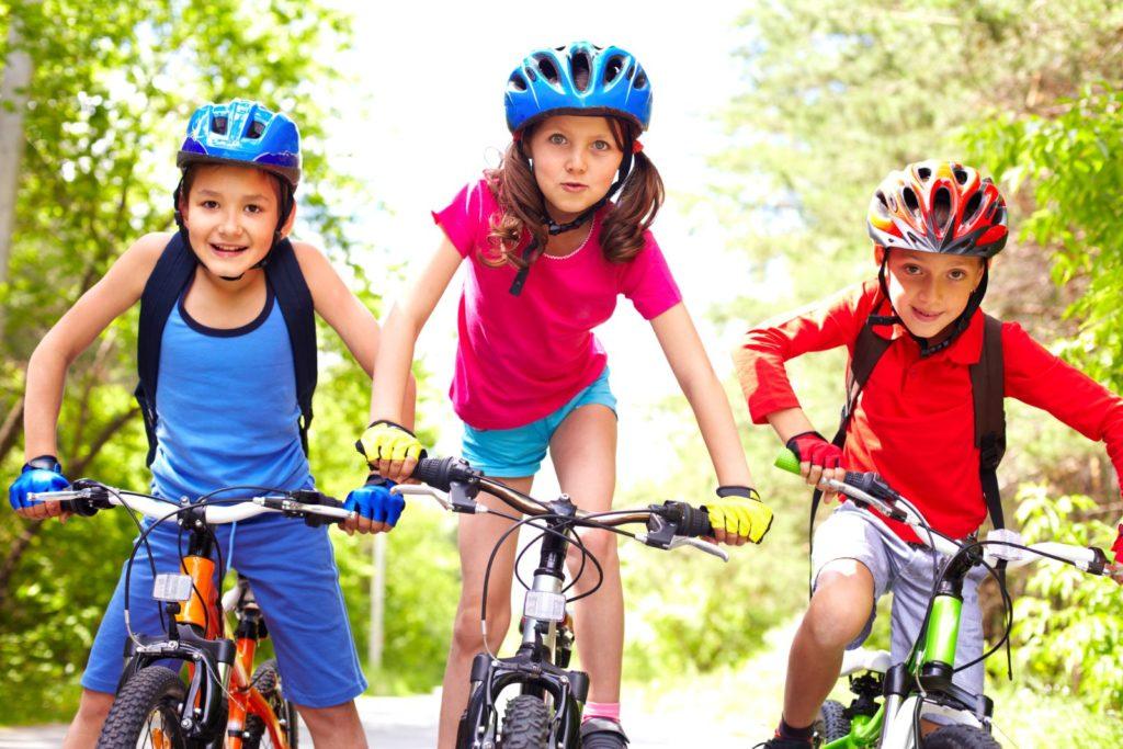 Donovaly s deťmi na bicykli